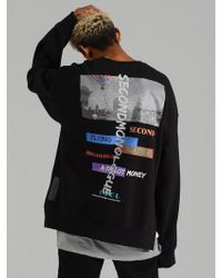 COSTUME O'CLOCK - Scatter Money K Oversized Sweatshirt Black - Lyst