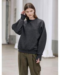 NILBY P Volume Sweatshirt - Grey