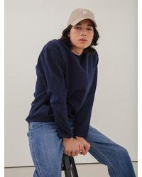 VIABON DE VIA Merino Wool Milano Round Knit - Blue