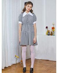 bpb - Checky Dress_black - Lyst