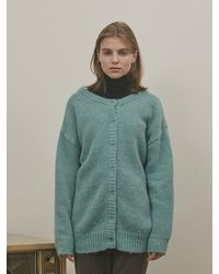 among A Two-way Knit Cardigan - Green