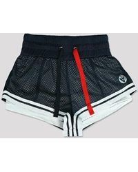 W Concept - Short Distance Mesh Shorts (ny) - Lyst