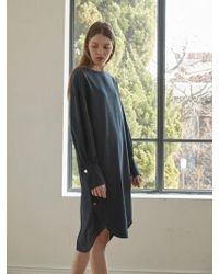 NILBY P - Side Open Tunic Dress Na - Lyst