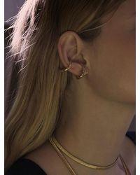 1064STUDIO The Hoop 04 Ear Cuff - Metallic
