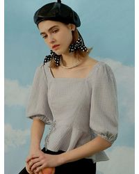 Petite Studio Margot Cotton Top - Multicolor