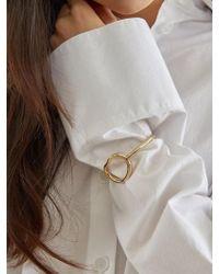 W Concept - Essence Bracelet_gold - Lyst
