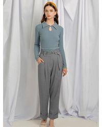 Petite Studio Nuremberg Trousers - Grey