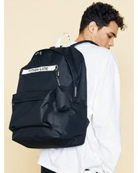 W Concept - [unisex]sd Fl Backpack(black) - Lyst