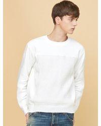 MILLOGREM - Voll Knit Sweatshirts - White - Lyst