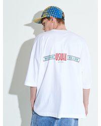 XTONZ - Xtt008 Ruth Oversize T-shirt - Lyst