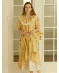 ULLALA PAJAMAS Monet Pyjama - Yellow