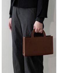 Amomento Box Tote Bag - Black