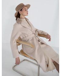 Petite Studio Gigi Cashmere Coat - Multicolour