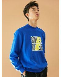 BONNIE&BLANCHE - [unisex] Poster Sweatshirt Blue - Lyst