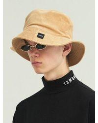 13Month [unisex] Corduroy Bucket Hat - Natural