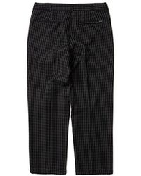 WKNDRS Window Checked Trousers (black)