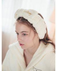 W Concept - Gelato Basic Hoodie Hair Band - Lyst