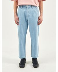 Plac Light Washed Denim Jeans - Blue