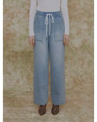 among - [us] A String Loose Fit Jean - Lyst