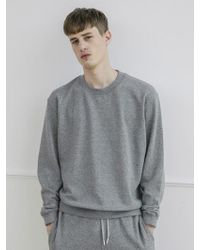 AECA WHITE - Men Sweatshirt -grey - Lyst