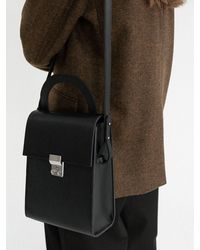 Amomento Satchel Bag - Black