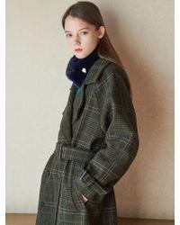 W Concept - Contes Fake Fur Muffler 11color - Lyst