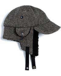 Eastlogue Bomber Hat - Black