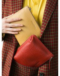 Awesome Needs Cow Leather Bumpy Mini Bag 6color - Red