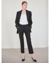 NILBY P Suit Trousers - Black