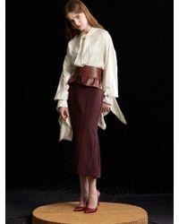 W Concept - Urban Skirt - Lyst