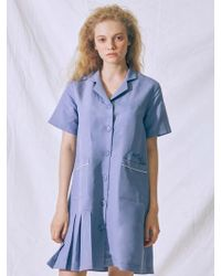 MIGNONNEUF - Club Half Fleats Dress Blus - Lyst