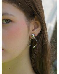 CLUT STUDIO 1 5 Piercing Earring - Metallic