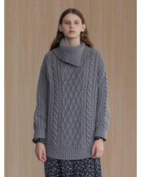 among - A Twist Pola Knitwear - Lyst