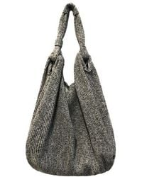 Maison de H - Fotune Gray- Shoulder Bag - Lyst