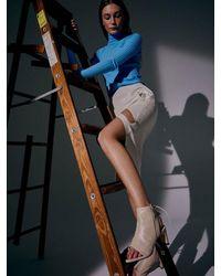 Yuul Yie Boon Open Toe Boots B554 - Blue
