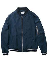 LAYER UNION Light Ma-1 Jacket - Blue