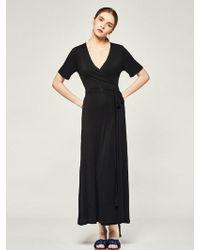 LIUNICK - Athena Belted Dress Black - Lyst