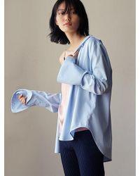 W Concept - Sunday Shirt - Blue - Lyst