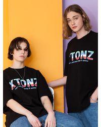 XTONZ Xtt017 Flag T-shirt () - Black