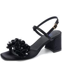 Suecomma Bonnie Flor 3 Sandal (black)