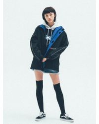 UNIIS DESIGN - [unisex]unsd Reflective Track Jacket Black - Lyst