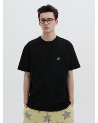 WKNDRS W Logo Ss T-shirt Black