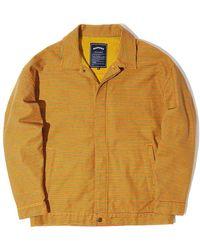 WKNDRS Striped Jacket - Yellow