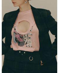 Fleamadonna 2 Way Round Neck T-shirt - Multicolour