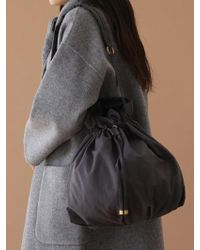 UNDERCONTROL STUDIO - Pot Bag - Wrinkle - Npc - Dawn Charcoal - Lyst