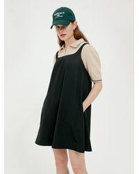 Bensimon Mini A Line Dress (carbon) - Black