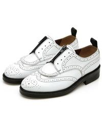 DEMIHAND - 2ways Zipper Wing-tip White - Lyst