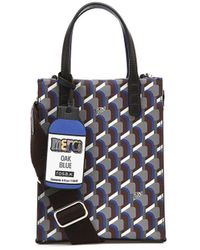 ROSA.K Cabas Monogram Tote Bag (s) - Blue
