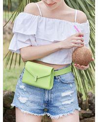 JUST JINNY Miss Jinny Flap Bag - Red