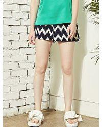 Blank - 61 Print Shorts-nv - Lyst